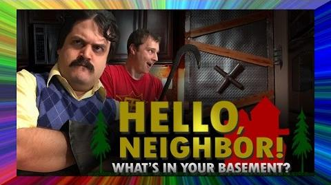 Hello Neighbor What's In Your Basement (Musical)