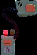 Электронный замок выкл