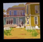 Картина дома Соседа