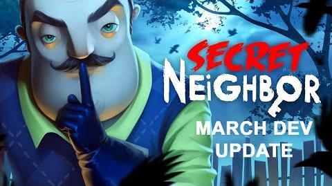 Secret Neighbor dev update- Player Classes, New Gameplay, PAX East Details
