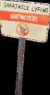 Знак про баки релиз