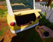 Оранжевый ключ в багажнике (Alpha 4)