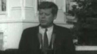 John Glenn & President John F