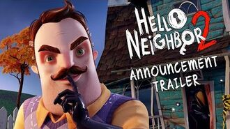 Hello Neighbor 2 Announcement Trailer Xbox Series X, PC