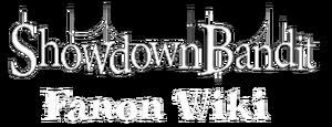 Showdown Bandit Fanon wiki wordmark