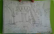 Backhouse hall