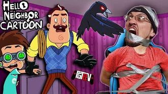 HELLO NEIGHBOR the CARTOON?!?! + FGTeeV Easter Secret Neighbor Bonus Round