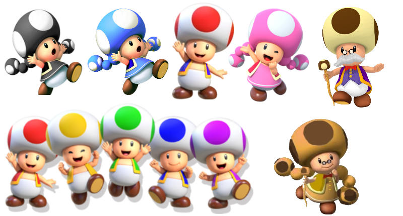 Toad (species) | Hello yoshi Wiki | FANDOM powered by Wikia