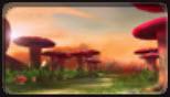 赤色蘑菇林
