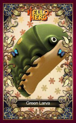 Green Larva Facebook