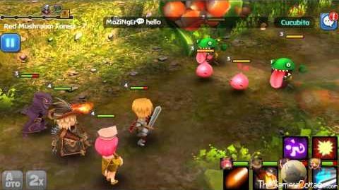 Hello Hero - Armon Red Mushroom Forrest 7