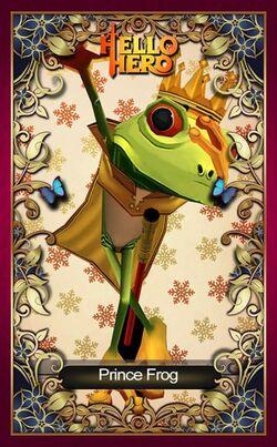 Prince Frog Facebook
