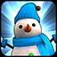 Snowman Blue icon