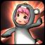 Teddybear Grey icon