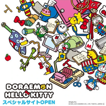 Doraemon X Hello Kitty Merchandise 6