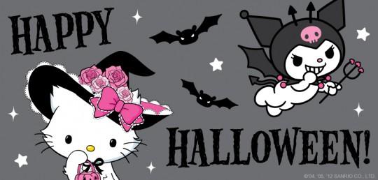 Image - Sanrio Characters Charmmy Kitty--Kuromi--Halloween ...