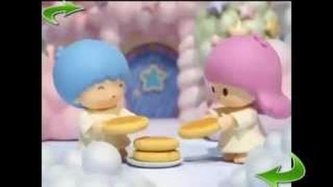 """Hello Kitty Stump Village """"Little Twin Stars"""""""