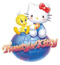Sanrio Characters Tweety Hello Kitty Image001