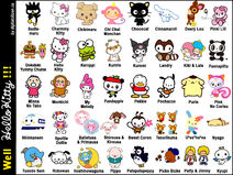 Hello Kitty Characters