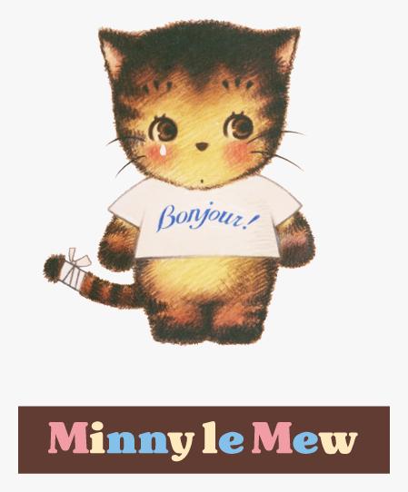 猫キャラクターミニールミュー