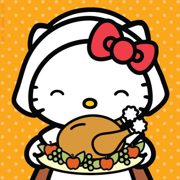 Image Sanrio Characters Hello Kitty Thanksgiving