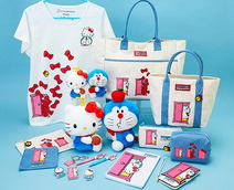 Doraemon X Hello Kitty Merchandise 7