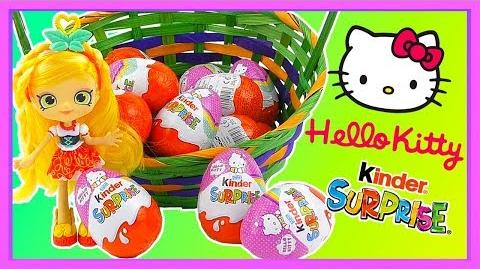 NEW Hello Kitty Kinder Surprise Eggs 2017 Unboxing Video - LIMITED EDITION