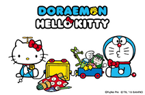 Doraemon X Hello Kitty 2