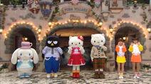 Hello Kitty Batzu-maru Cinnamoroll Daniel Star Kayo Eri