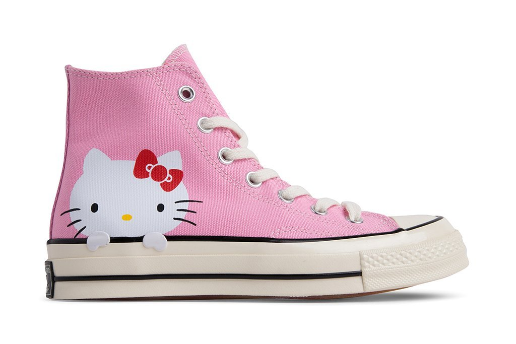 1a3cb1bc2d Converse x Hello Kitty Chuck Taylor All Star 70 Hi - Pink Prism-Egret-