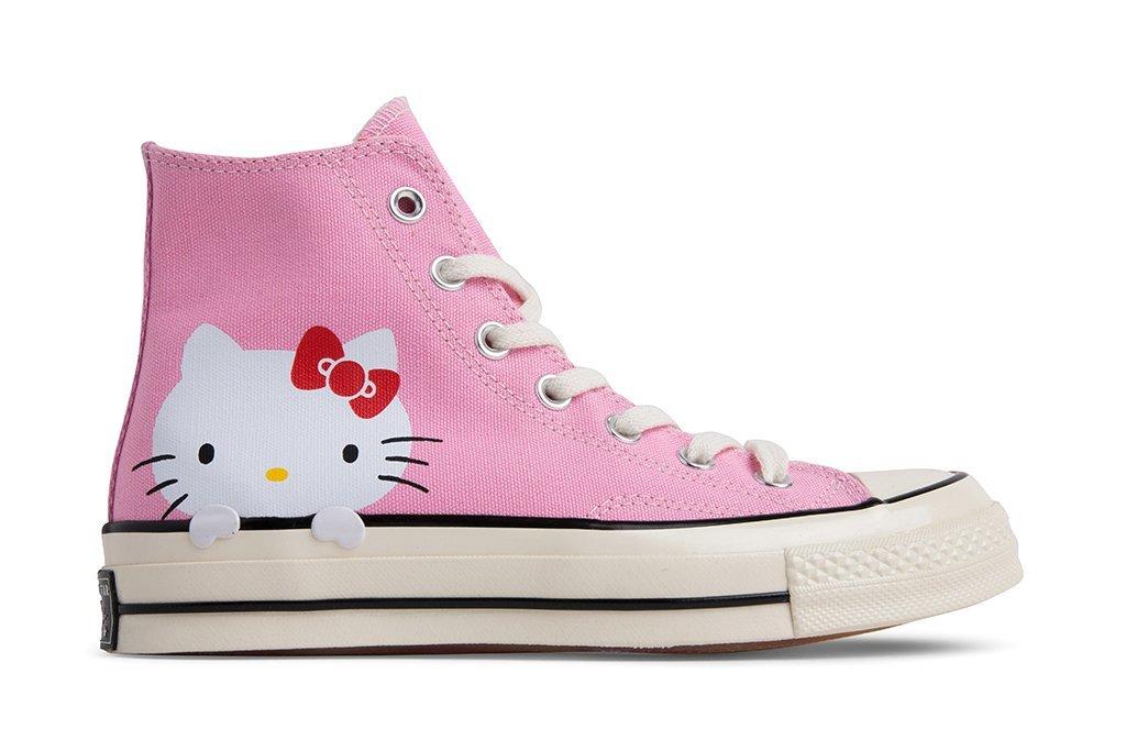 4be0230071ba00 Converse x Hello Kitty Chuck Taylor All Star 70 Hi - Pink Prism-Egret-