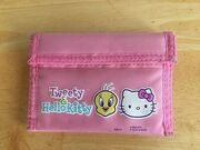 Tweety-Hello-Kitty-Sanrio-Girls-Trifold-Pink
