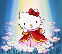 Hello Kitty The Sleep Princess Artwork