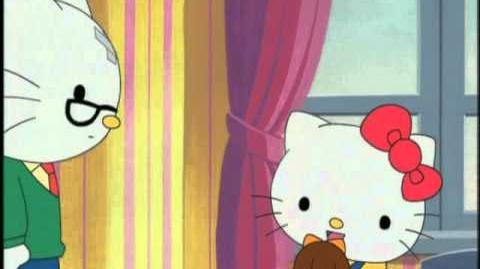 """""""Cleaning Up My Mess"""" Hello Kitty"""