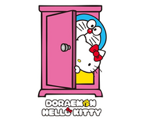 Doraemon X Hello Kitty