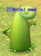 Spiral wood