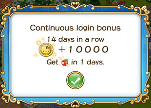 Login bonus day 14