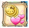 Coins hearts