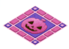 Purplehalloweenfloor