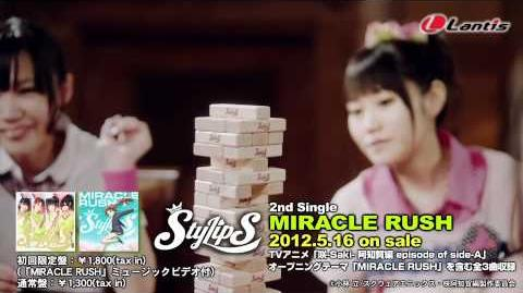 【StylipS】2nd single「MIRACLE RUSH」MV試聴動画