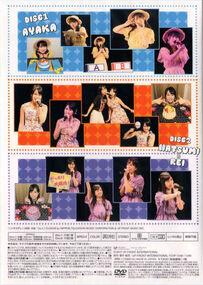 Hirose Ayaka・Taguchi Natsumi・Inoue Rei Birthday Event 2017 back cover
