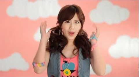 ℃-ute - Momoiro Sparkling (MV) (Okai Chisato Solo Ver
