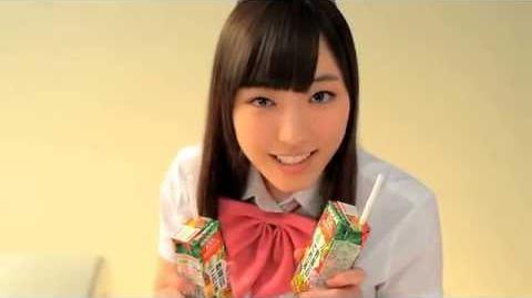 カゴメ 「フチ娘。といっしょにこれイチ!動画」 モーニング娘。'14 譜久村 聖