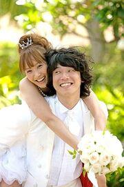 Fujimoto Miki and Shouji Tomoharu wedding