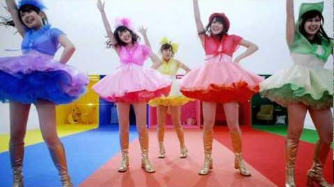 ℃-ute - Sekaiichi HAPPY na Onna no Ko (MV) (Dance Shot Ver.)