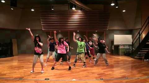 モーニング娘。 『ワクテカ Take a chance』 (Dance Rehearsal)
