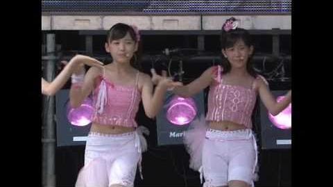 ℃-ute - EVERYDAY YEAH! Kataomoi (Live Ver.) 2006 09 10 @ Yomiuriland East