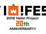 Hello! Project 20th Anniversary!! Hello! Project Hallo! Fes 2018