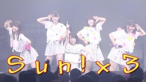 Sun!×3 アップアップガールズ(2) Zepp Tokyo アプガ2