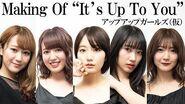 """Up Up Girls (Kakko Kari) Making Of """"It's Up To You"""""""